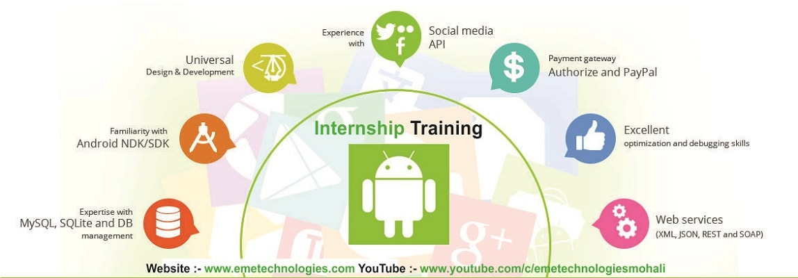Android Internship Training | Course in Mohali | Chandigarh